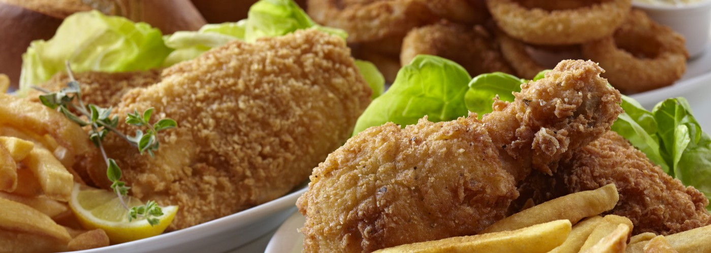 Fried Food Made with Coast Packing Products