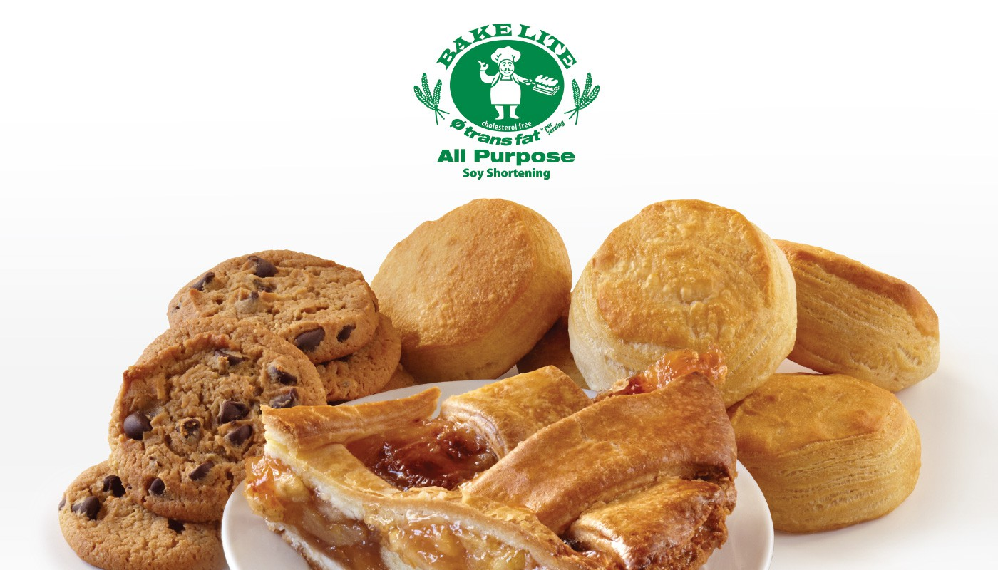 Food Made with Bake Lite Soy Shortening
