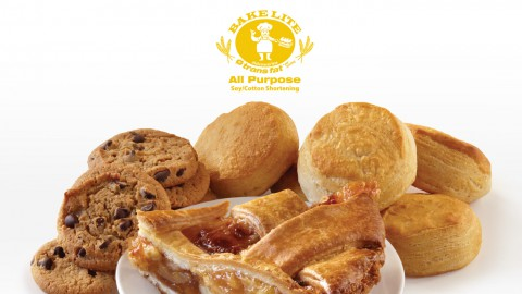 Food Made with Bake Lite Soy/Cotton Shortening