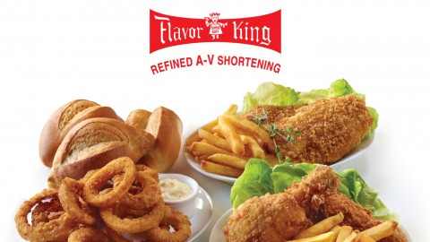 Food Made with Flavor King Refined A-V Shortening