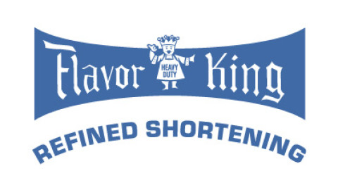 Small Flavor King Blue Logo