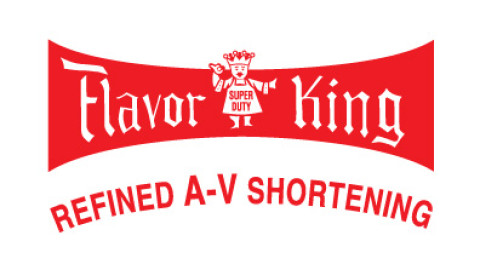Small Flavor King Red Logo
