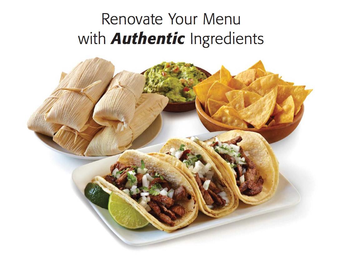 Assortment of Hispanic Foods