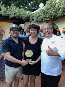 (Sept 2018) Chef Ernie with the winners of the Golden Tortilla — Sonoratown!