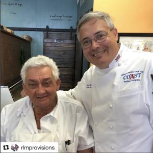 (March 2018) Chef Ernie with El Mago himself of El Mago de las Fritas finest purveyors of fritas!