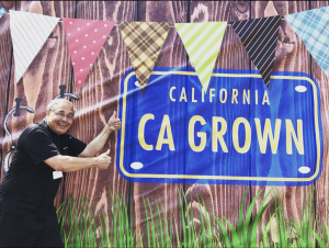 (July 2018) Chef Ernie celebrated the history of food and agriculture  - the bounty of California!